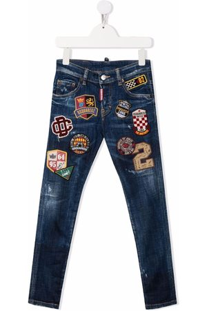 Dsquared2 Patch-detail skinny jeans