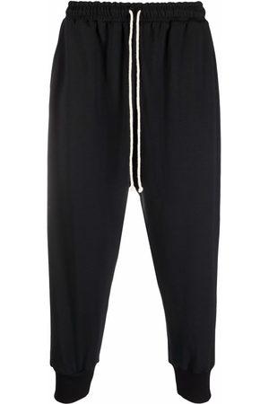 Alchemy Pants - Cropped drop crotch trousers