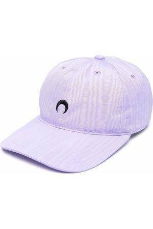 Marine Serre Crescent moon-embroidered cap