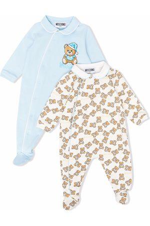 Moschino Bodysuits & All-In-Ones - Teddy Bear motif babygrow set