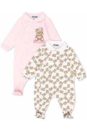 Moschino Teddy Bear motif babygrow