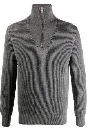 Roberto Collina Men Turtlenecks - Roll-neck merino jumper - Grey