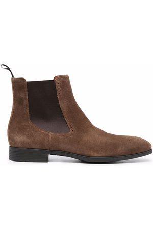 santoni Men Chelsea Boots - Suede Chelsea boots