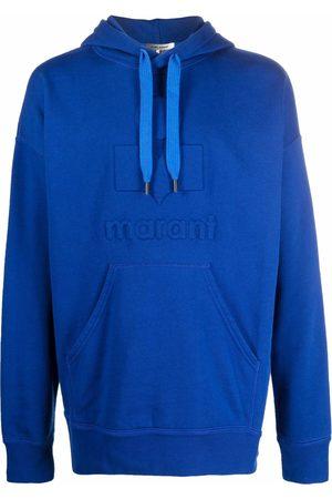 Isabel Marant Men Hoodies - Embossed logo hoodie