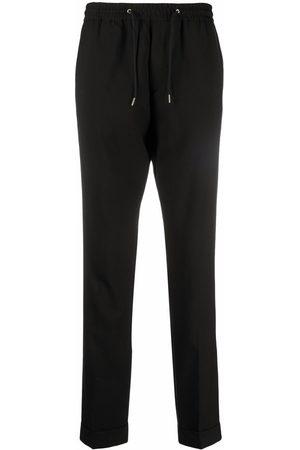 Paul Smith Men Skinny Pants - Drawstring-waist slim-cut trousers