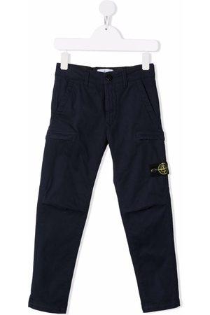 Stone Island Straight-leg cargo trousers
