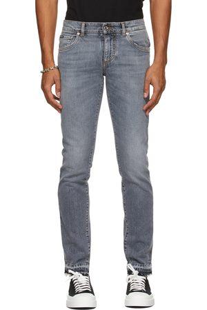 Dolce & Gabbana Men Skinny - Grey Skinny Jeans