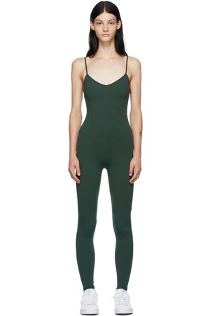 LIVE THE PROCESS Women Bodies - Green Corset Bodysuit