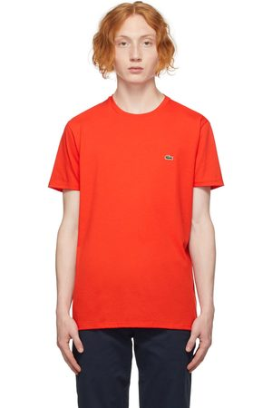 Lacoste Red Regular Fit T-Shirt