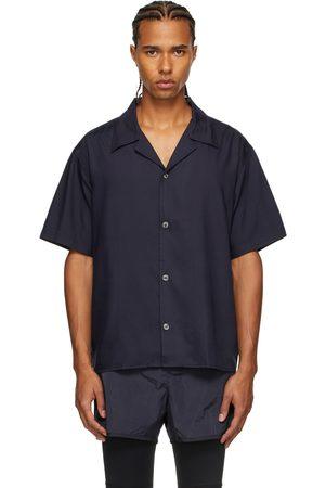 TRUE TRIBE Men Short sleeves - Navy Pablo Short Sleeve Shirt