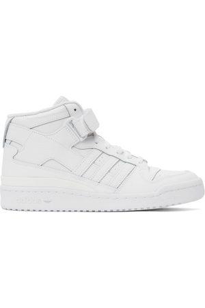 adidas Men Sneakers - White Forum Mid Sneakers
