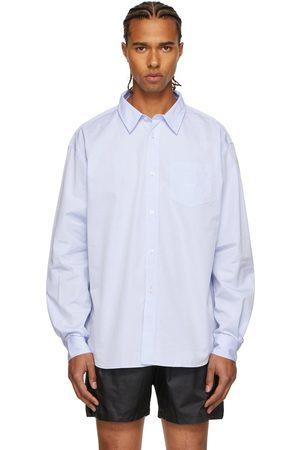 Palmes Men Long sleeves - Blue Daryl Long Sleeve Shirt