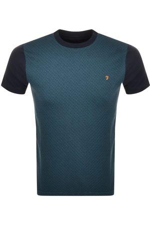 Farah Short Sleeve T Shirt Navy
