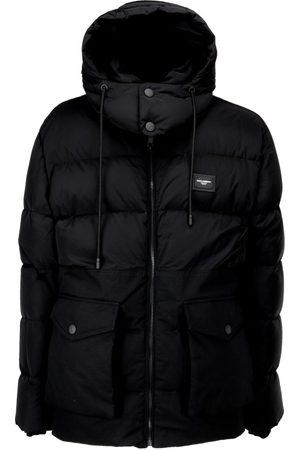 Dolce & Gabbana Hooded Puffer Coat
