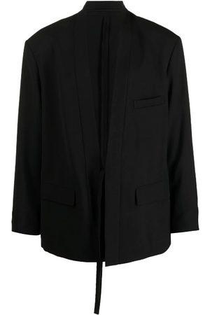 AMBUSH Collarless Kimono-Style Blazer