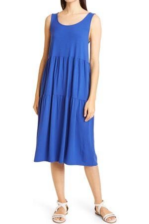 Eileen Fisher Women's Tiered Midi Dress