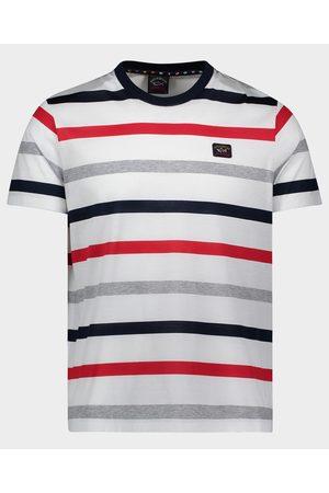 Paul & Shark Men Short Sleeve - Organic Cotton T-Shirt With Iconic Badge