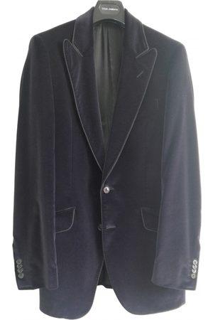 Dolce & Gabbana Men Gilets - Velvet vest