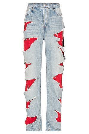 Balenciaga Slashed Loose Fit Jean in