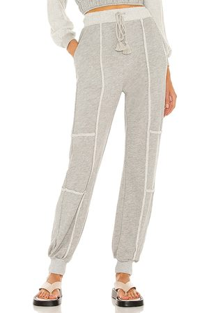 Lovers + Friends Carley Jogger in Grey.