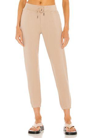 NSF Women Skinny Pants - Sayde Slouchy Slim Sweatpant in Beige.