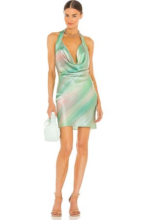 Silk Roads by Adriana Iglesias Esther Dress in Green.