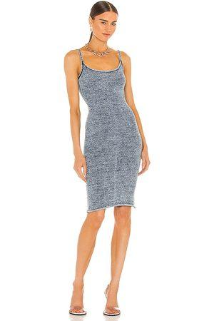 Knorts Denim Knitwear X REVOLVE Pencil Spaghetti Strap Dress in .