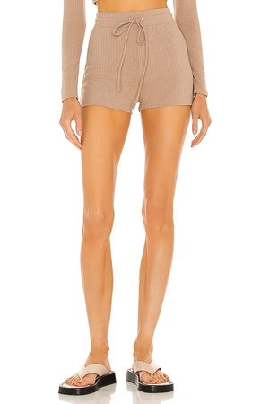 h:ours Almira Shorts in Tan.