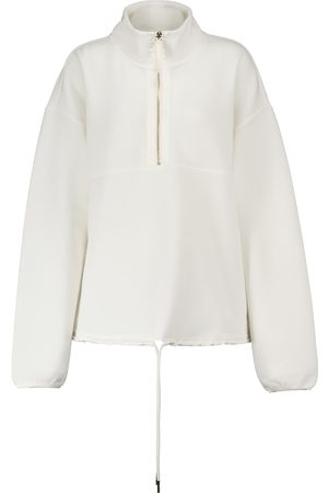 Varley Harding ribbed jersey sweatshirt