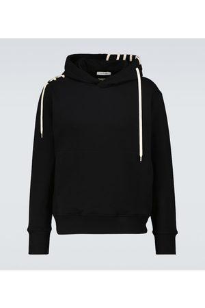CRAIG GREEN Laced hooded sweatshirt