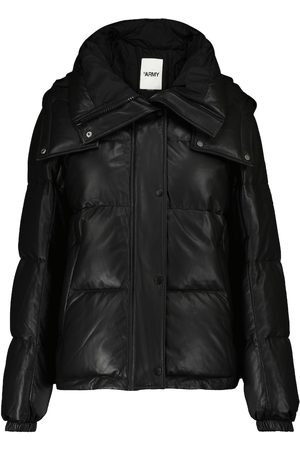 YVES SALOMON Army quilted leather jacket