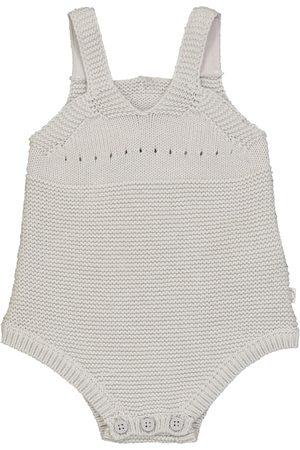 Stella McCartney Baby intarsia cotton and wool bodysuit