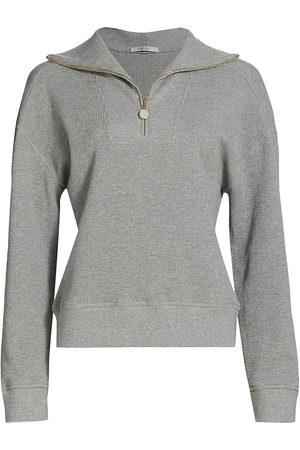Derek Lam Women Sports Hoodies - Ariah Half-Zip Sweatshirt
