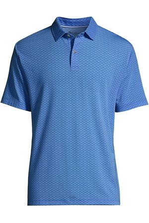 Peter Millar Men Polo Shirts - Drirelease Natural Touch Starfish Polo