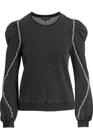 Generation Love Women Sports Hoodies - Joey Ruffle Sweatshirt