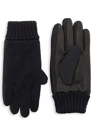Saks Fifth Avenue Men Gloves - COLLECTION Leather & Wool Gloves