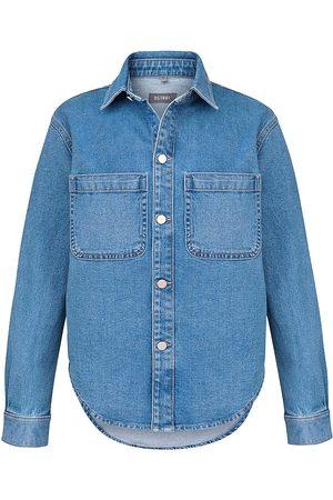 DL1961 Women Denim - DL1961 Premium Denim Zita Tailored Denim Shirt