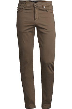 Kiton Men Stretch Pants - Stretch Cotton 5-Pocket Pants
