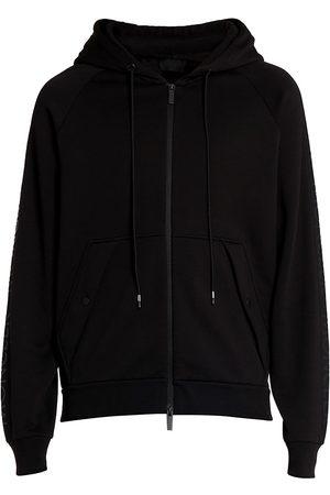 Moncler Zip-Up Hoodie Sweatshirt