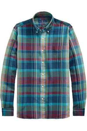 Polo Ralph Lauren Men Polo Shirts - Classic-Fit Plaid Button-Down Shirt
