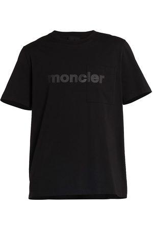 Moncler Men Short Sleeve - Cotton Short-Sleeve T-Shirt