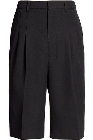 Ami Men Bermudas - Tailored Wool Bermuda Shorts