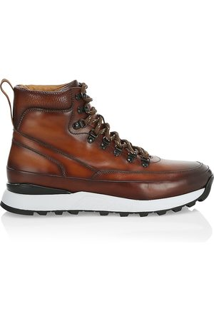 Saks Fifth Avenue Men Outdoor Shoes - COLLECTION Leather Hiking Boots