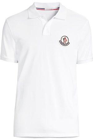 Moncler Men Polo Shirts - Slim-Fit Logo Polo Shirt