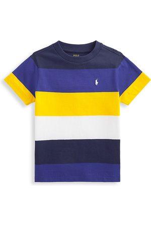 Polo Ralph Lauren Boys T-shirts - Little Boy's & Boy's Striped Cotton Jersey Tee