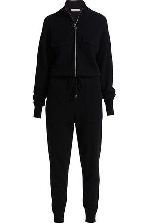 JONATHAN SIMKHAI Women Sweats - Iman Knit Loungewear Jumpsuit