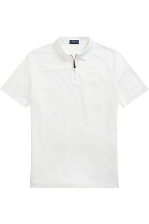 Polo Ralph Lauren Men Polo Shirts - Slim-Fit Stretch Quarter-Zip Polo Shirt