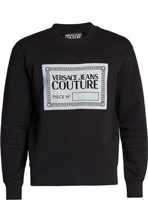 VERSACE Men Sweatshirts - Chain Link Logo Sweatshirt