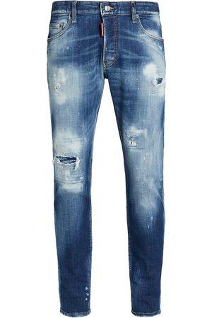 Dsquared2 Men Skinny - Skater Distressed Skinny Jeans