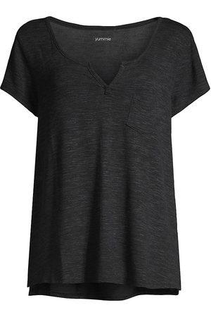 Yummie by Heather Thomson Women Sweats - Slub-Knit Lounge T-Shirt